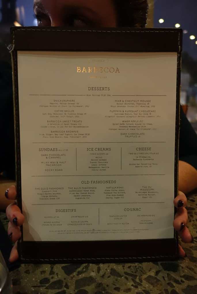 Meat fiends do Barbecoa St Paul's on What's Katie Doing? blog