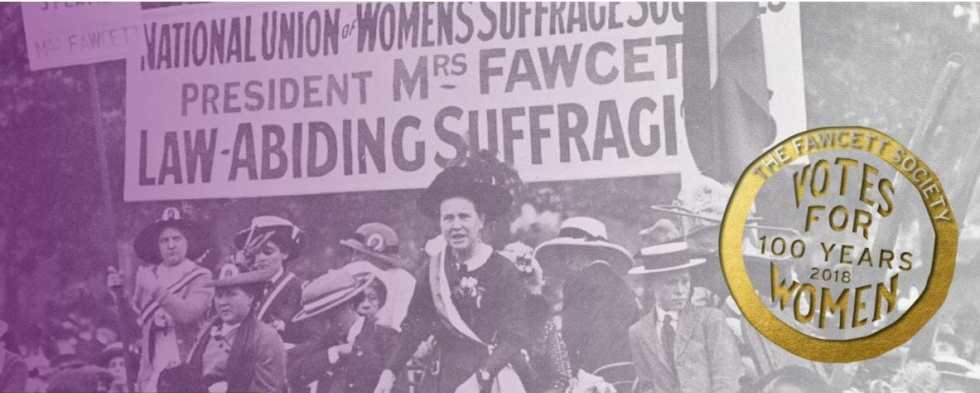 Celebrate 100 years of women voting! on What's Katie Doing? blog