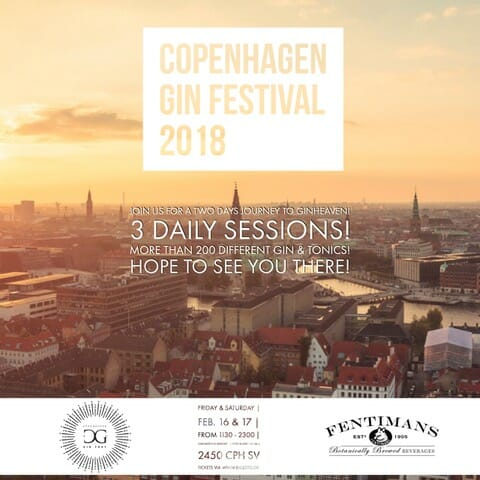 View of Copenhagen on Copenhagen Gin Festival 2018