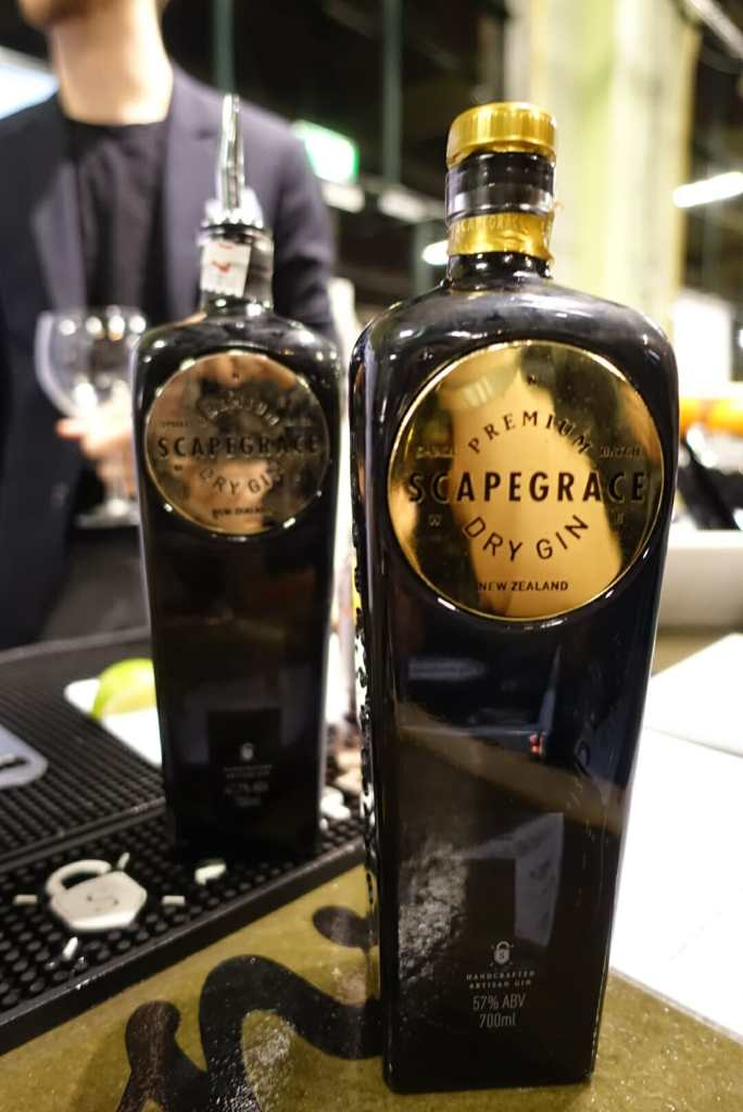 Scapegrace gin from New Zealand