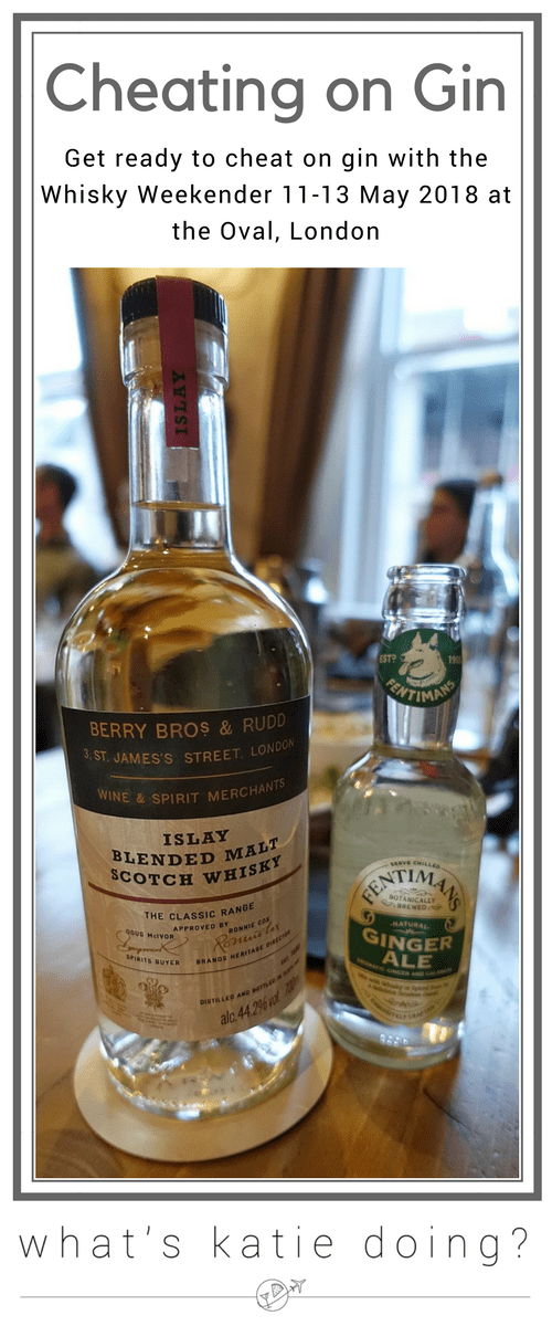 Cheat on gin with Whisky!