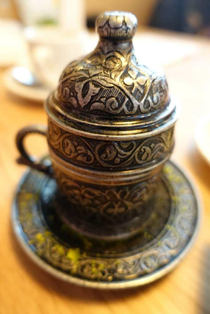 Ornate dessert pot