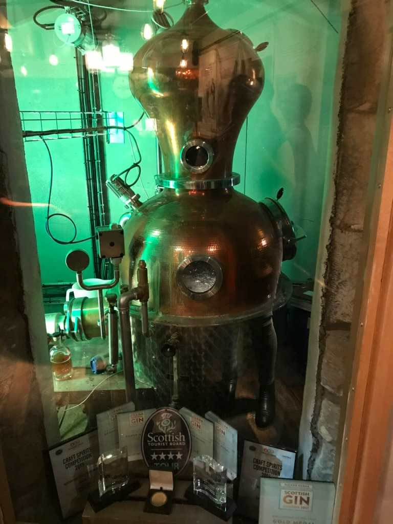 Flora the still making their new 1670 herbal gin