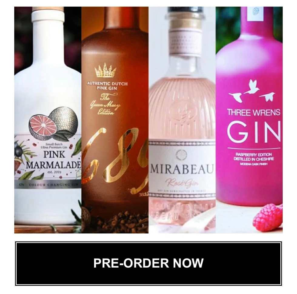 The Gin to My Tonic Home Festival Box - Drink Pink