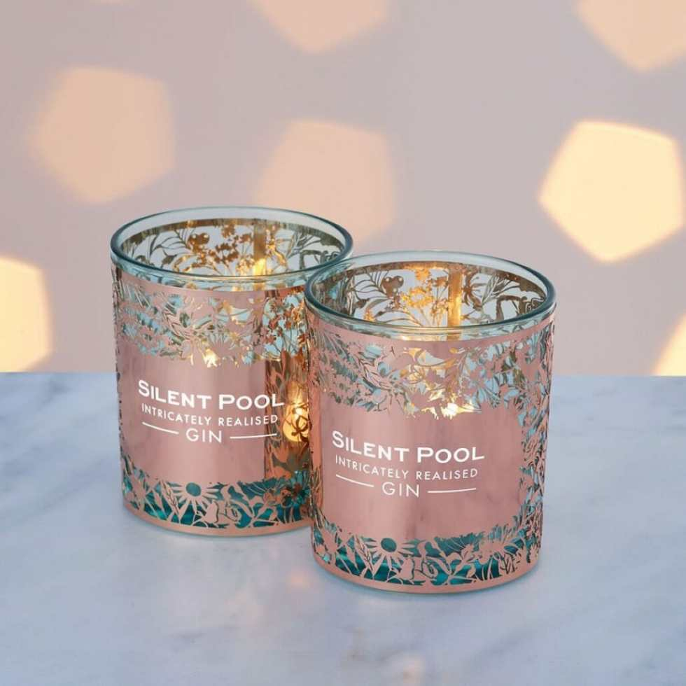 Silent Pool candle holders