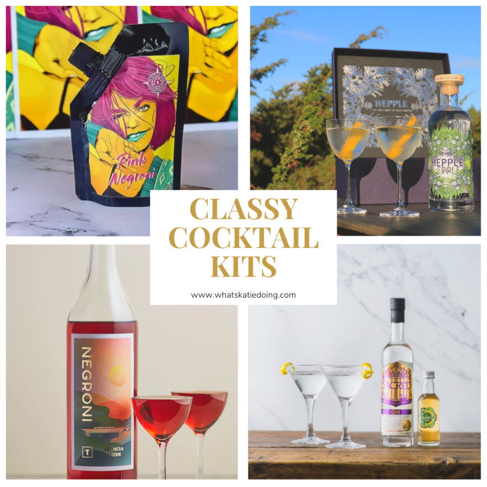 Classy Cocktail kits - the perfect gift for any cocktail lover