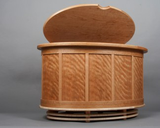 What's Left Chest, woodworking by Dale Johnson