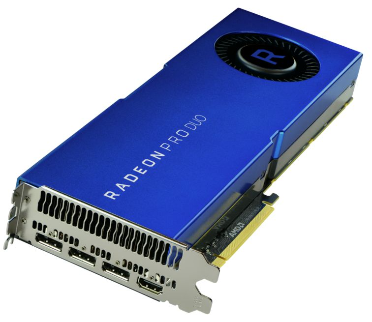 AMD puts 2 Polaris GPUs into it's Radeon Pro Duo