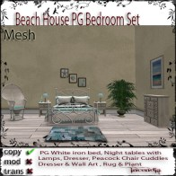 Beach House PG Bedroom set