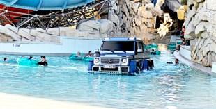 Yas Waterworld hosts Top Gear stunt