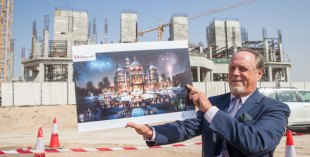 Dubai Park and Resorts - behind the scenes hard-hat tour, and plans