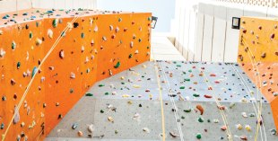 Rock climbing in Dubai
