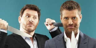 Manu Feildel and Pete Evans My Kitchen Rules