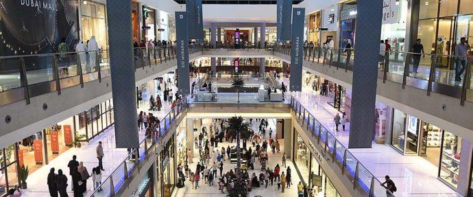 o que fazer em Dubai - mall dubai