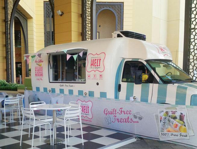 Food trucks in Dubai - Melt