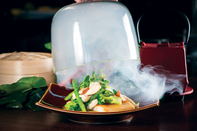 Smoking Doll - best dishes in Abu Dhabi