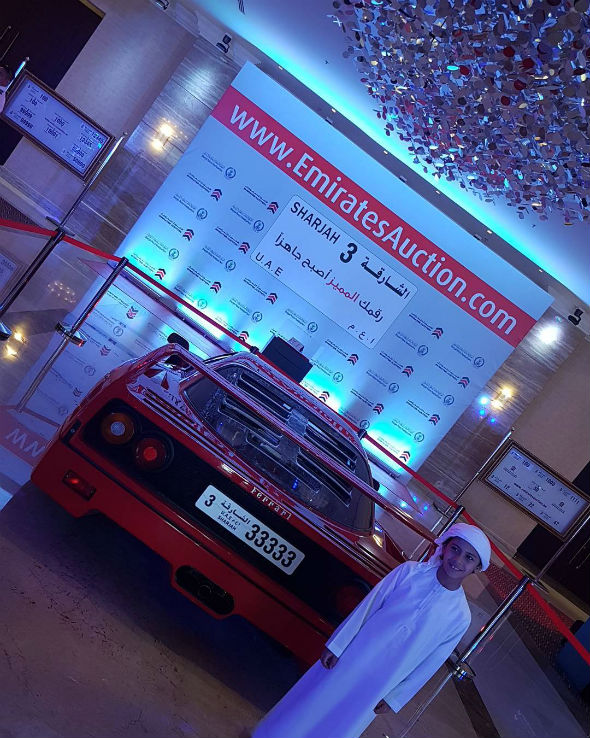 Uae Businessman Forks Out Dhs18m For No 1 License Plate