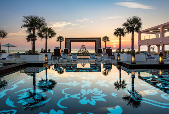 pool fairmont fujairah