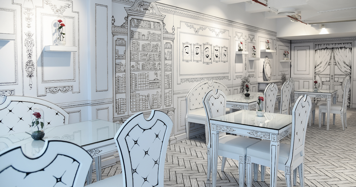 This Instagrammable 2D cafe in Abu Dhabi looks straight out of a fairytale