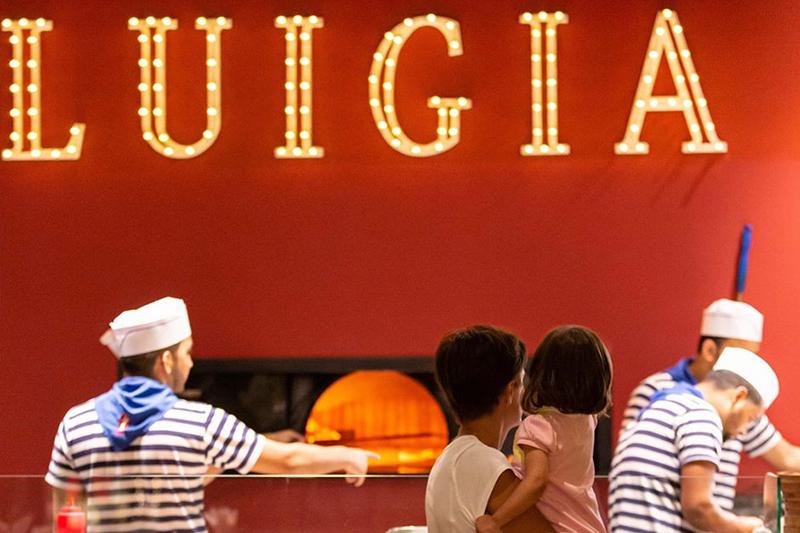 kids play areas Dubai Luigia
