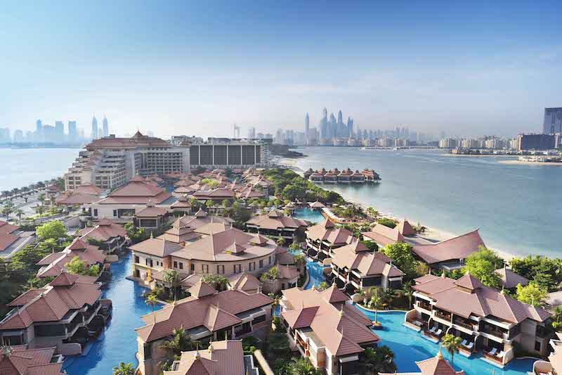 Anantara The Palm Dubai - Aerial