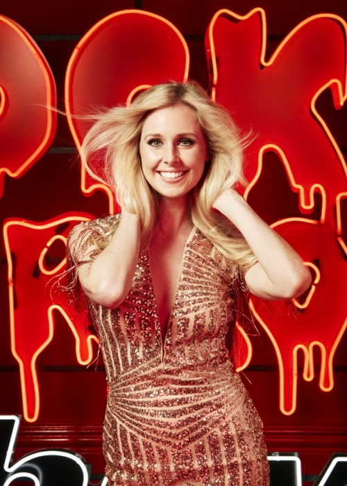 Diana Vickers is currently starring as Janet in The Rocky Horror Show