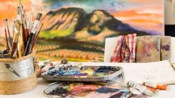 teenage art classes