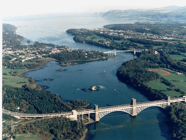 Both bridges- beaumaris lifeboat