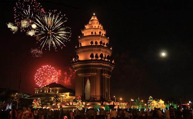 Fireworks Phnom Penh