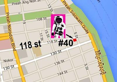space four zero map
