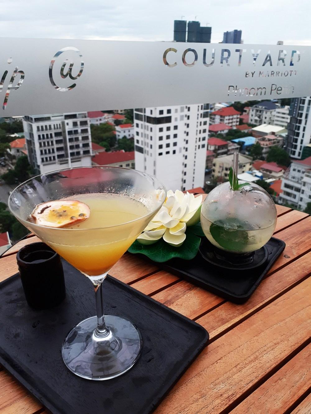 The Deck Phnom Penh cocktails view 2