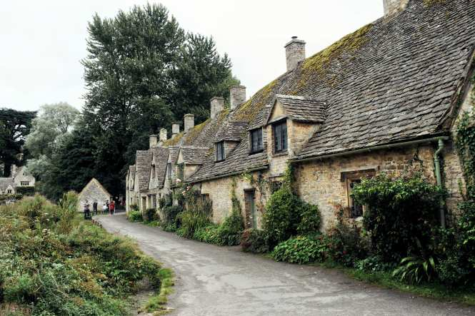Arlington Row in Bibury - The Cotswolds