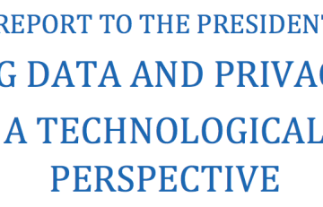 PCAST Big Data Report
