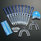 USA Teeth Whitening Kit 10 Tubes 2 Trays 1 White LED Light Best 44 CP Gel