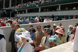 Kentucky Derby People Crowd