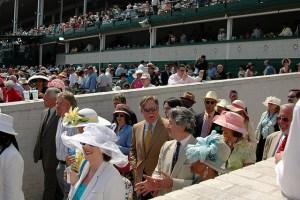 Kentucky Derby People Crowd
