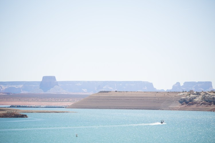 Lake Powell views in Southwest Utah