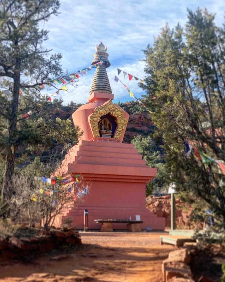 Amitabha Stupa and Peace Park Sedona Arizona