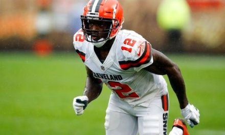 Browns' Gordon to miss Saints game with hamstring injury