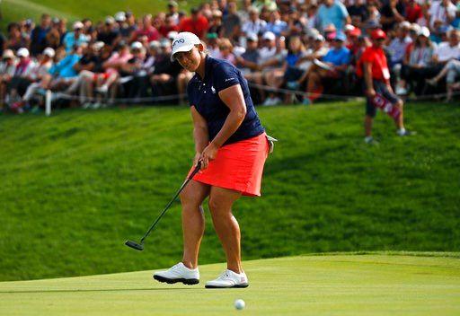 Angela Stanford wins at Evian for 1st career major title