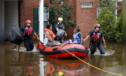 Flood threat from Florence remains in Carolinas; storm moves north