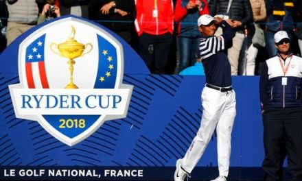 The Latest: Bubba battling a bug at the Ryder Cup