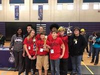Evans Middle takes top honors in Lego competition