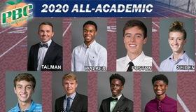 Eight Jaguar Athletes Honored on Track All-Academic Team