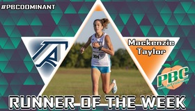 Mackenzie Taylor Named PBC Women's Cross Country Runner of the Week