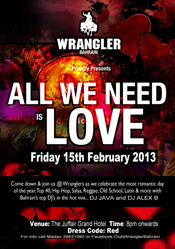 All We Need Is Love Events