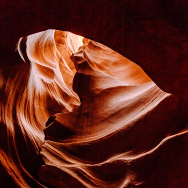 Antelope canyon heart-1