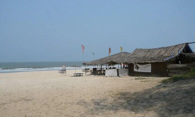 Shack like structure in Goa