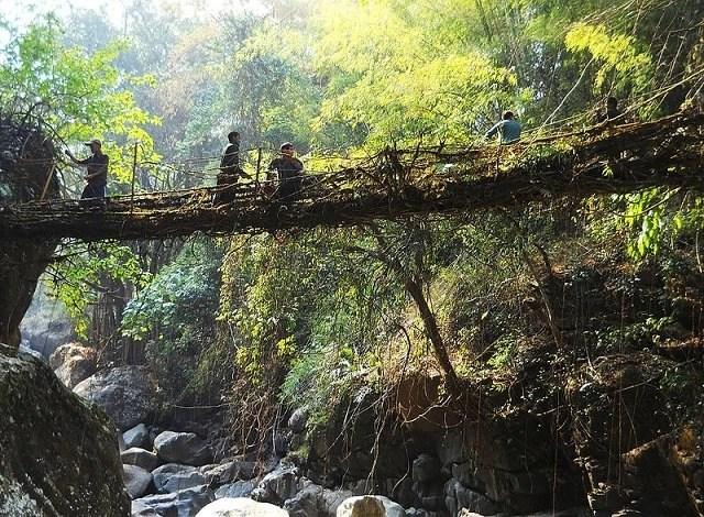 Bridge in Kongthong village