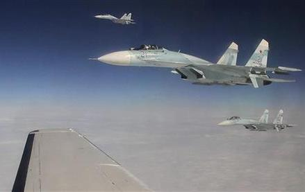 RUSSIAN, NORAD FORCES UNITE FOR EXERCISE